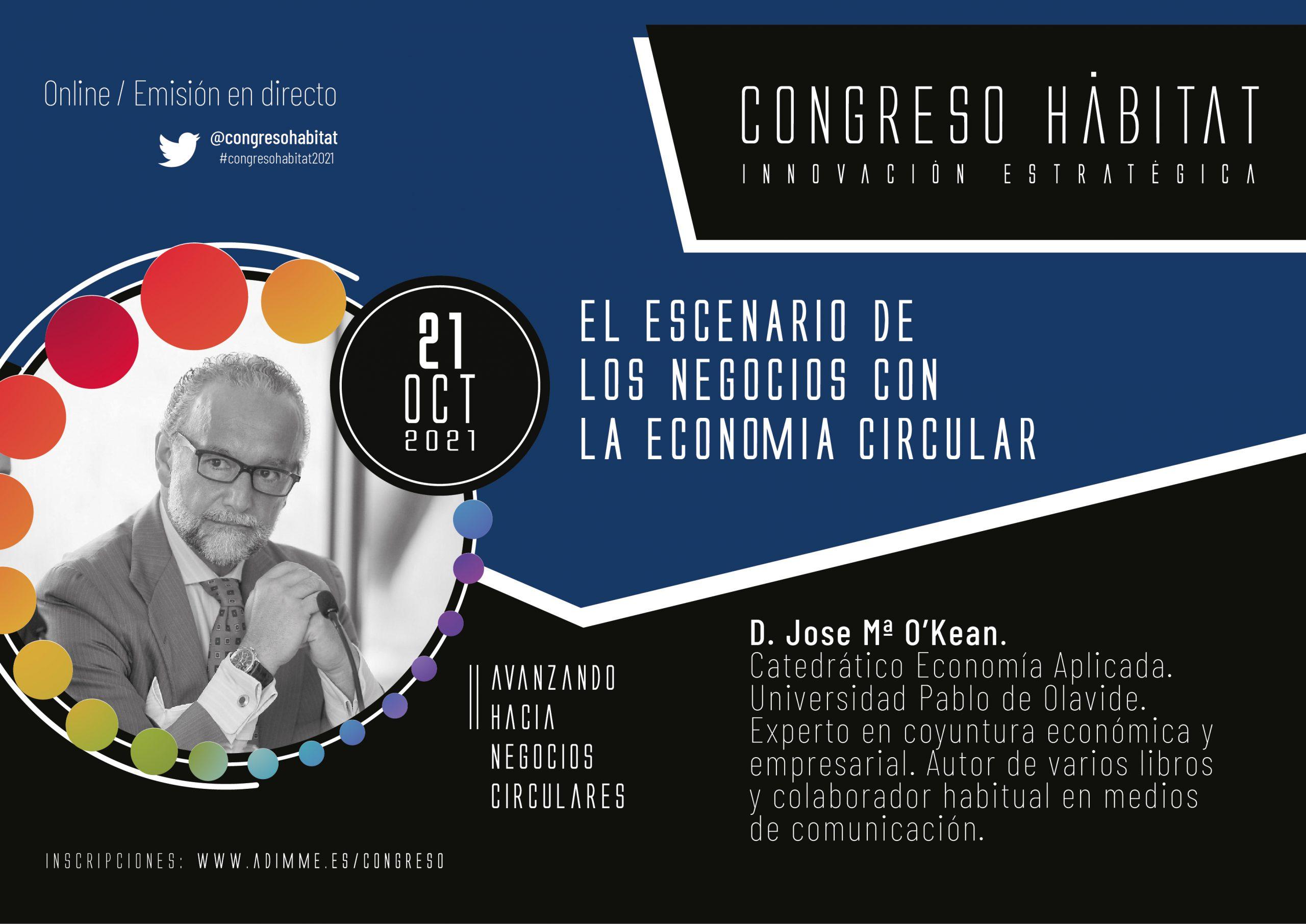 Jose Mª O'Kean en Congreso Hábitat 2021